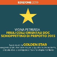 Golden Star allo Schioppettino di Prepotto 2015